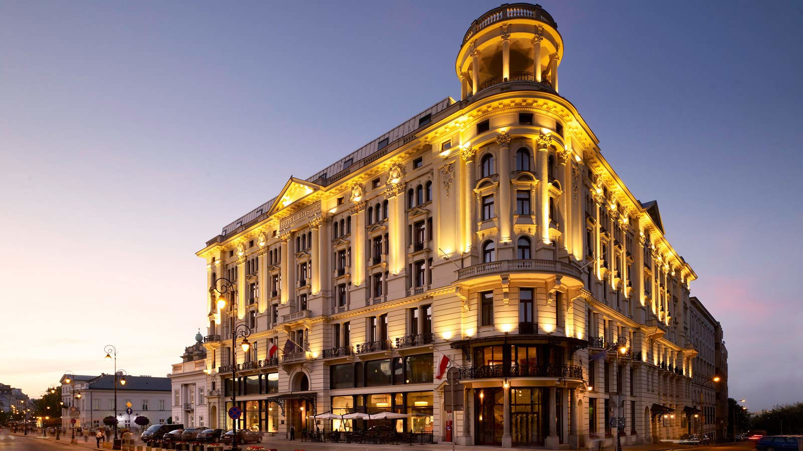 Bristol Hotel - Warsaw - Contact information and driving dircections