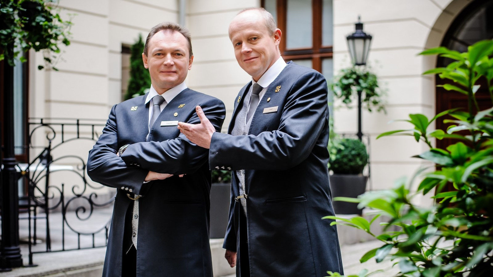 Hotel Bristol's Concierge Team