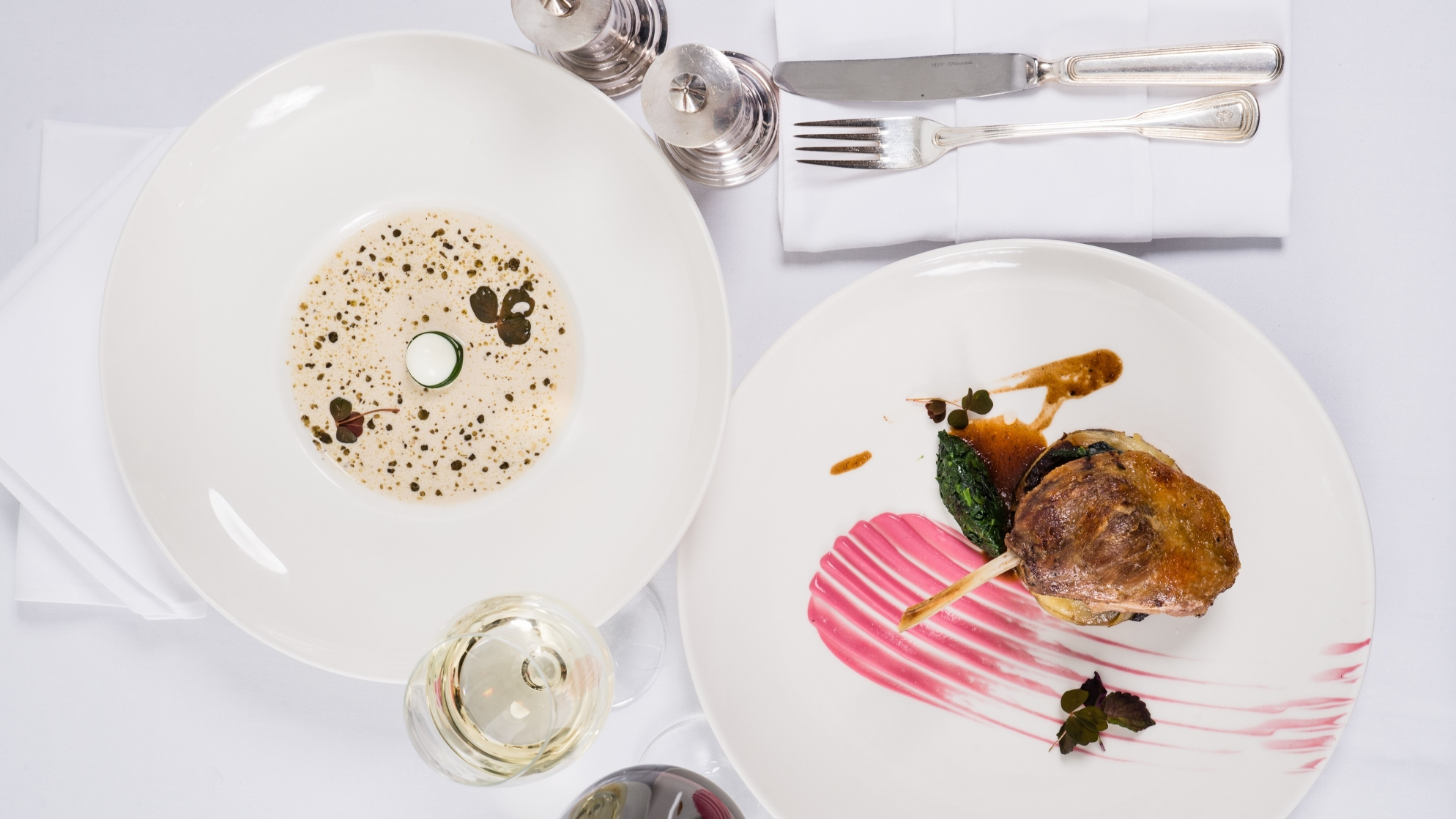 DELIGHT YOURSELF WITH 2-COURSE MENU FOR 65 PLN - Marconi restaurant in Warsaw